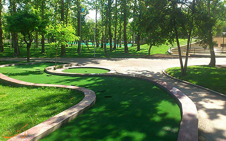 طبیعت پارک ملت مشهد