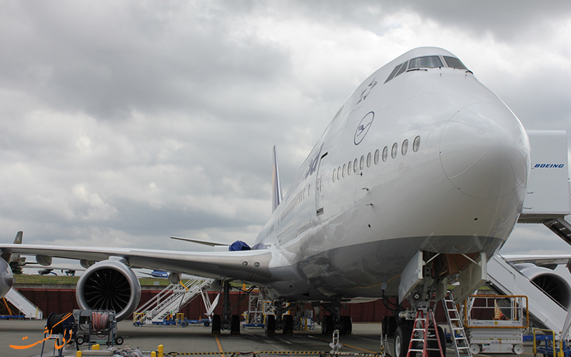 آشنایی با هواپیمای بوئینگ 747