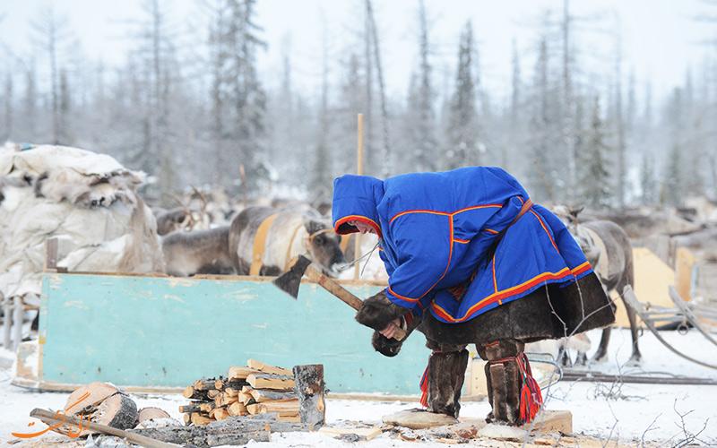تصاویر دیدنی از زندگی عشایر روسیه