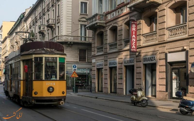 برینزا در میلان