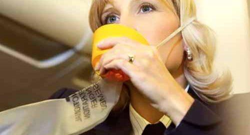 ماسک اکسیژن در هواپیماها