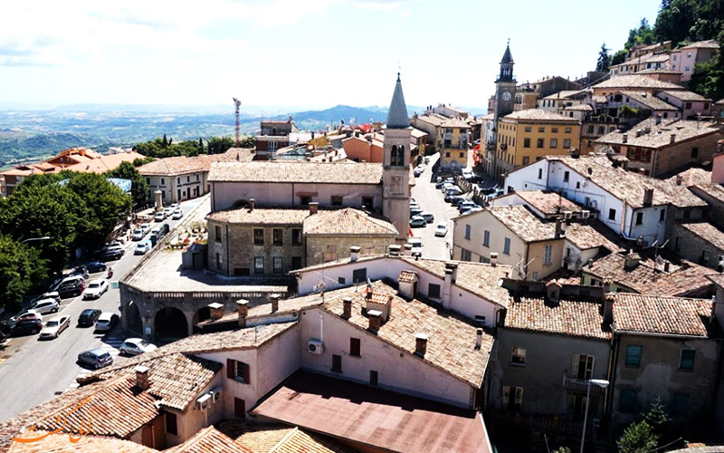 شهر Borgo Maggiore