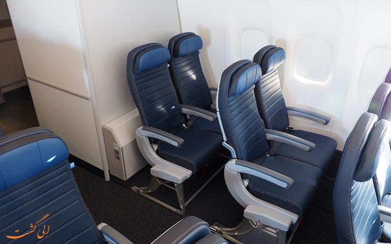 صندلی های راحت هواپیما