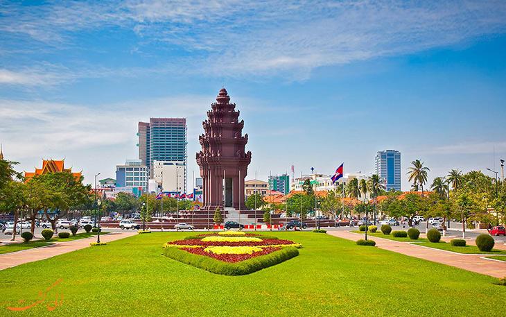 شهر پنوم پن در کامبوج