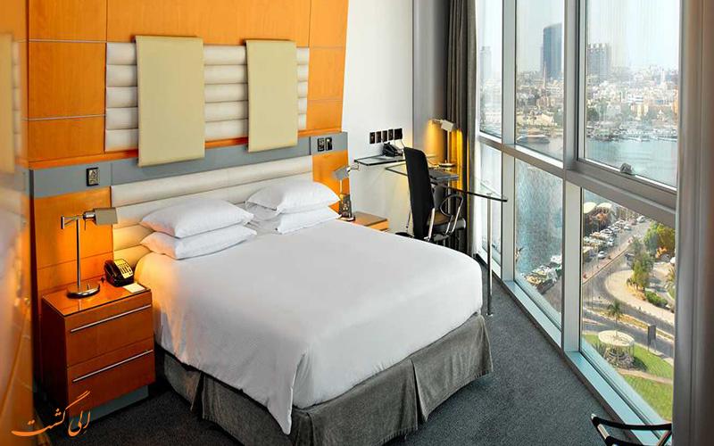 اتاق های هتل کریک