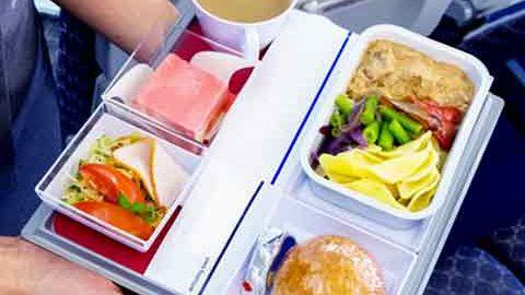 غذا خوردن در هواپیما