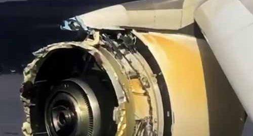 از کار افتادن موتور در هواپیما