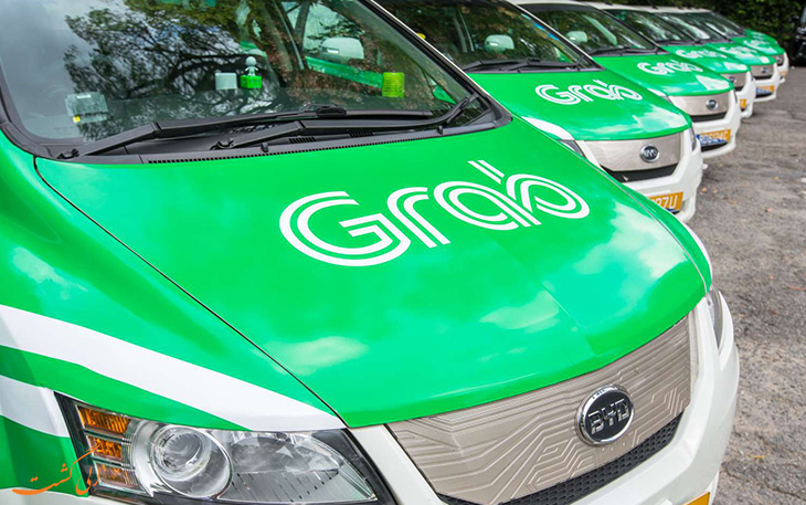 Grab-taxi شرکت تاکسی اینترنتی