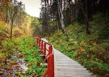 مسیرهای طبیعت گردی در روسیه