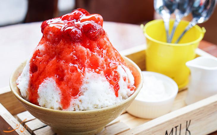 بستنی یخی کاکیگوری