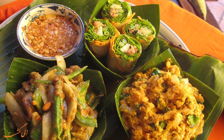 هزینه خورد و خوراک در کشور کامبوج