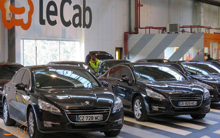 LeCab شرکت تاکسی اینترنتی
