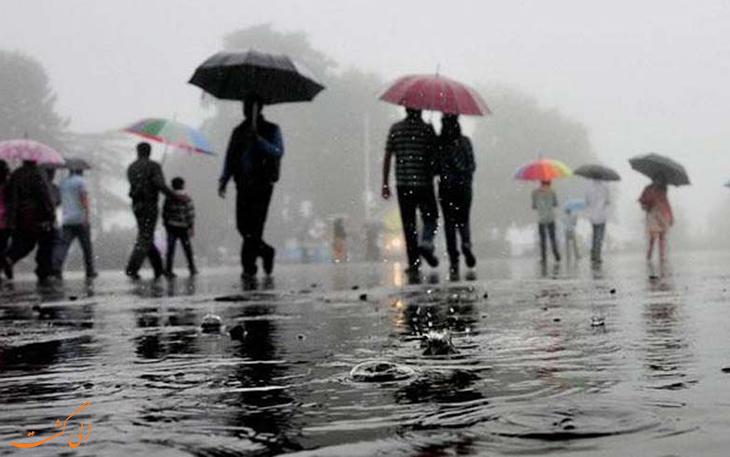 بارش های موسمی بمبئی