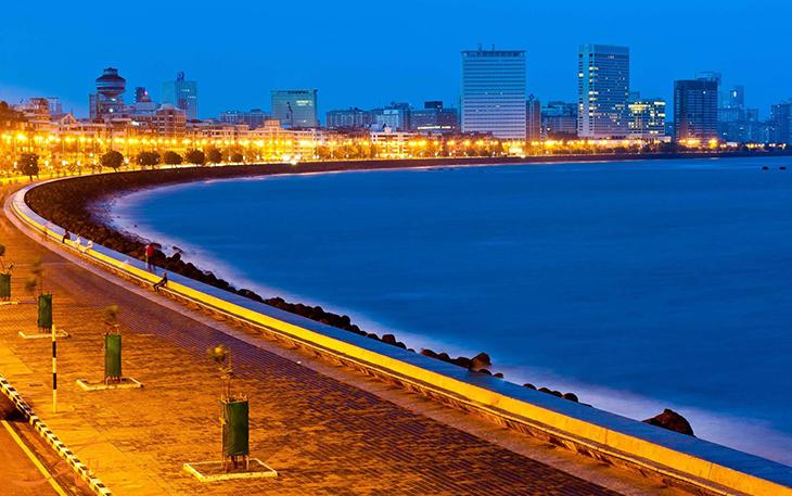 جاده گردنبند ملکه در بمبئی