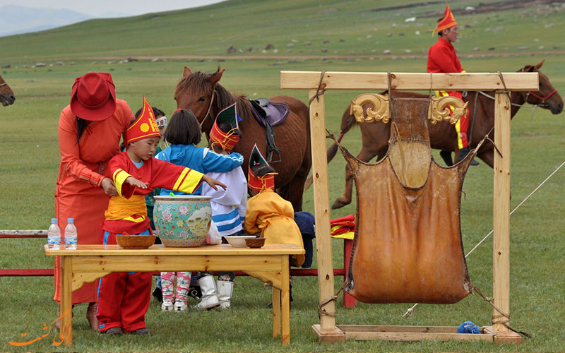 عشایر قزاق و مغول