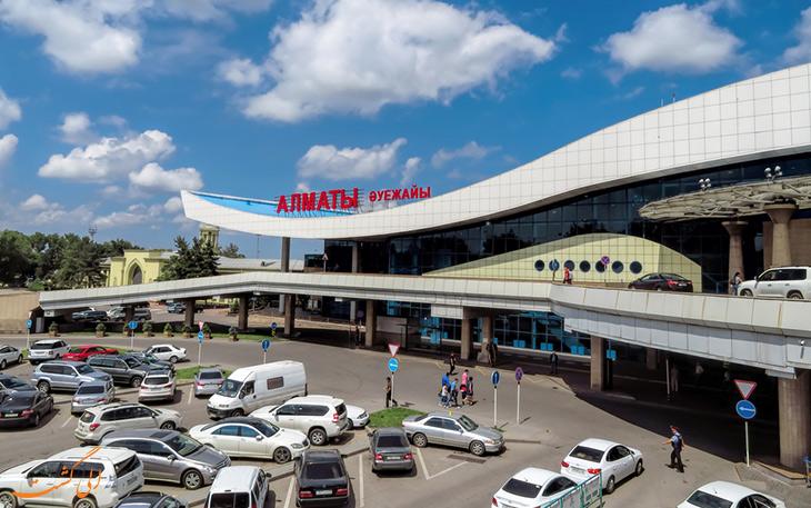حمل و نقل فرودگاه آلماتی