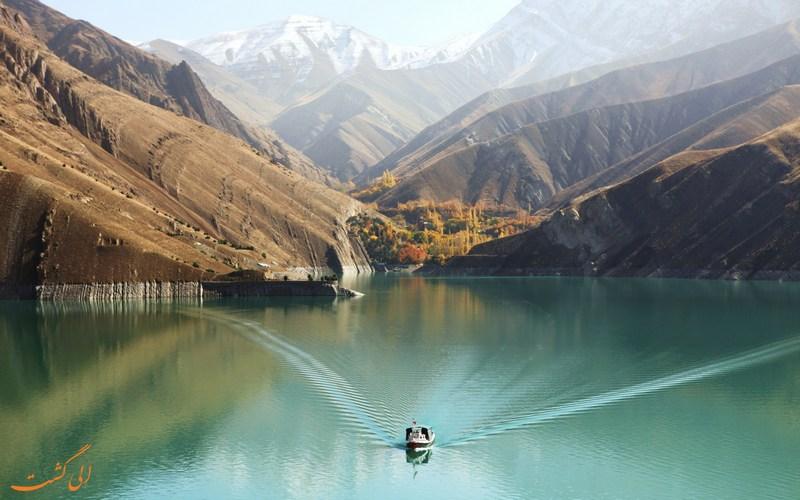 دریاچه سد امیر کبیر