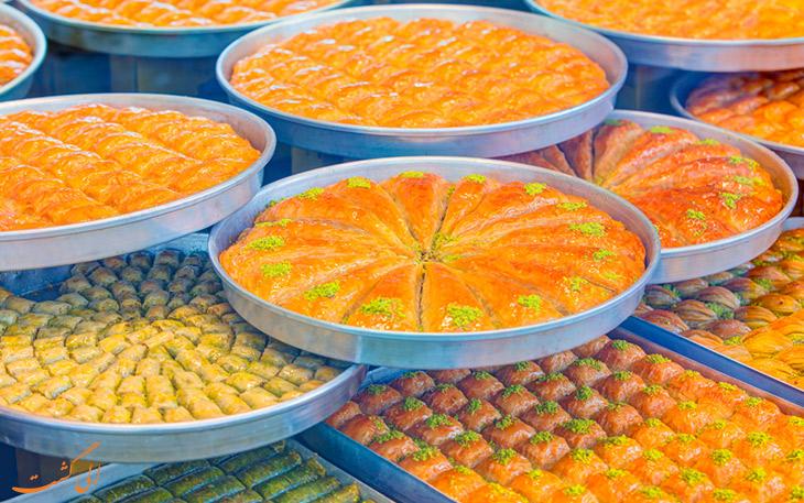خرید باقلوای استانبول
