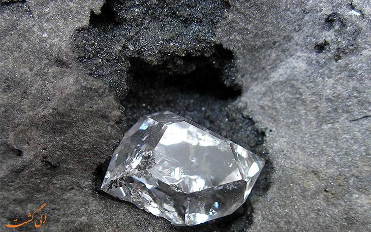 ذخایر الماس در سطح کراتون زمین