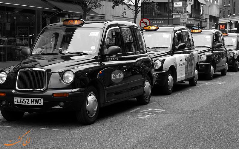 تاکسی های مشکی