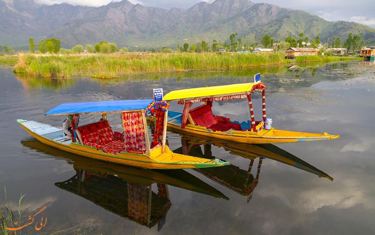 طبیعت دریاچه دال