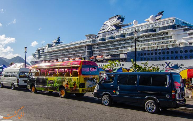 حمل و نقل در دومینیکا