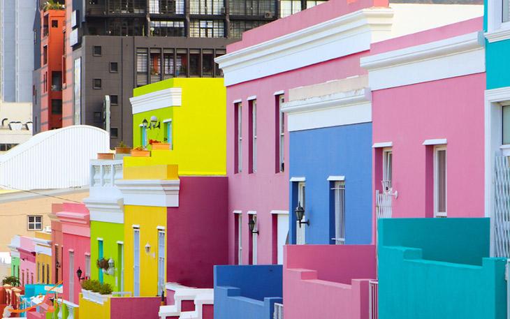 خانه های محله بوکاپ