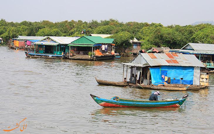روستای شناور چونگ خناس