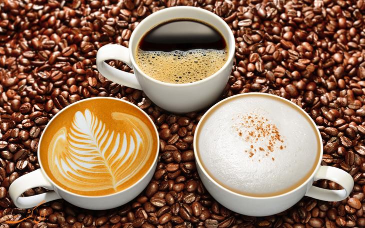 آشنایی با انواع قهوه و تفاوت آن ها