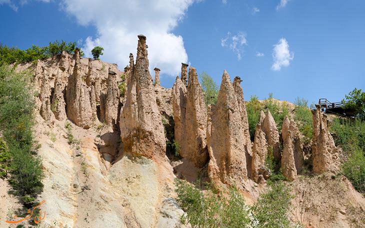 ستون های سنگی در صربستان