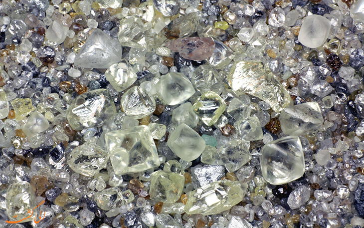 بزرگ تریم گنجینه الماس جهان