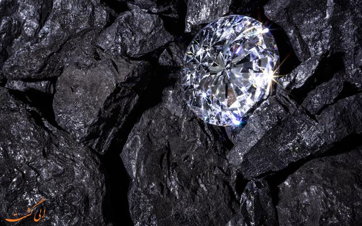 ذخایر الماس در لایه های درونی زمین