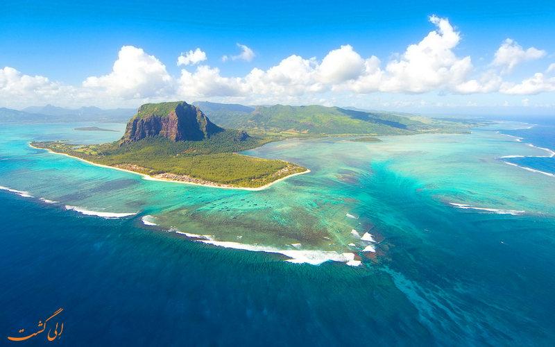 تصویری از جزیره زیبای موریس
