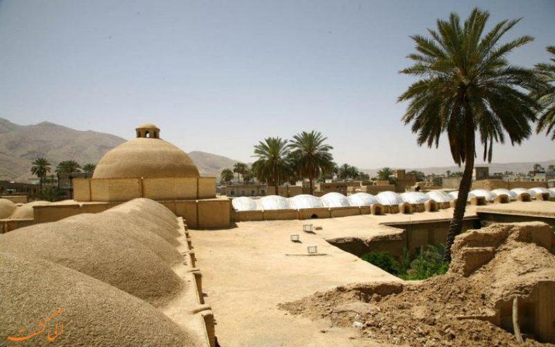 سقف بازار جهرم