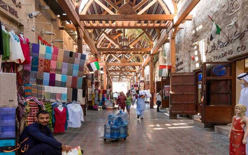 بازار پارچه دبی-بازارهای دبی