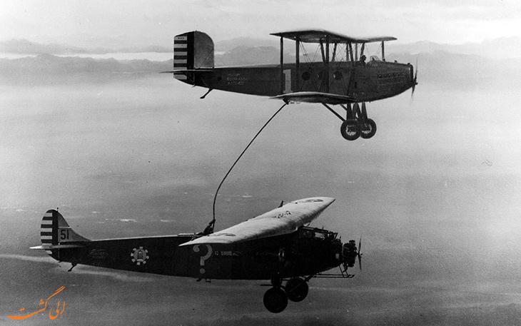 اولین نبرد هوایی