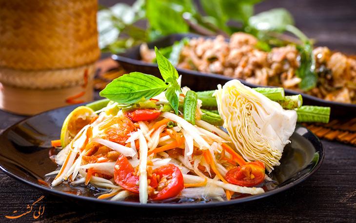 غذاهای محبوب در تایلند