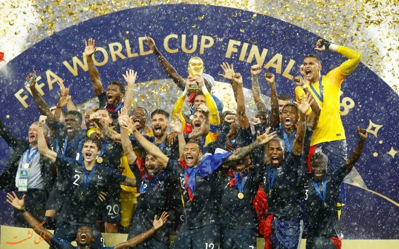 فرانسه قهرمان جام جهانی ۲۰۱۸