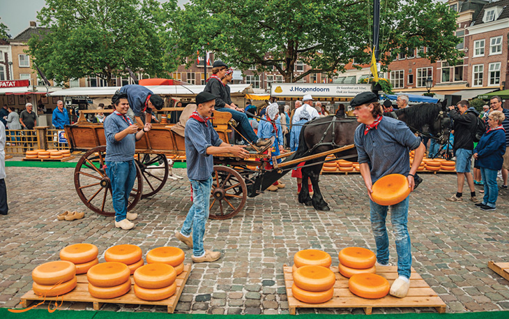 شهر گودا در هلند