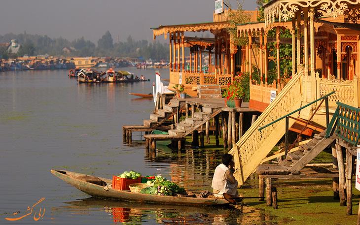 خانه های قایقی