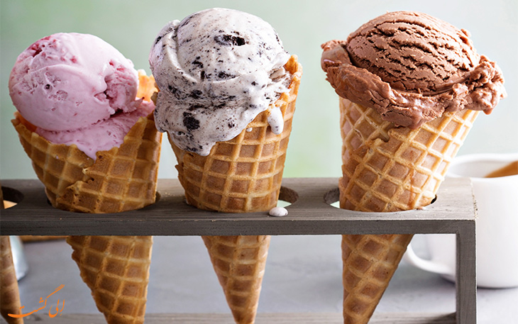 بزرگ ترین مصرف کننده بستنی در اروپا