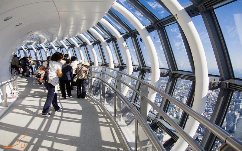 سکوی دید فضای بسته برج