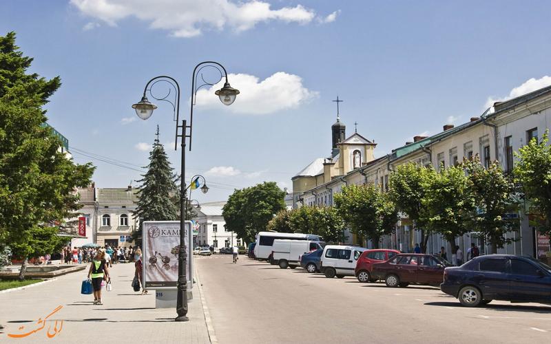 شهر کلومیا اوکراین
