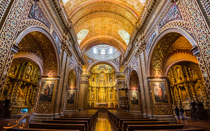 کلیسای طلاکوب اکوادور
