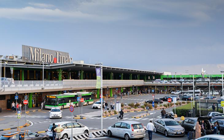حمل و نقل فرودگاه لینیت میلان