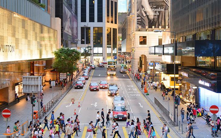 مراکز خرید هنگ کنگ