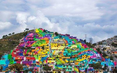 شهر رنگین کمانی مکزیک