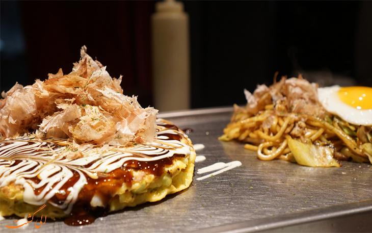 معرفی غذاهای خوشمزه ژاپنی