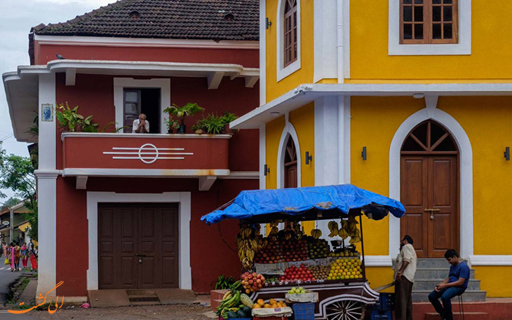 محله پرتغالی ها در گوا