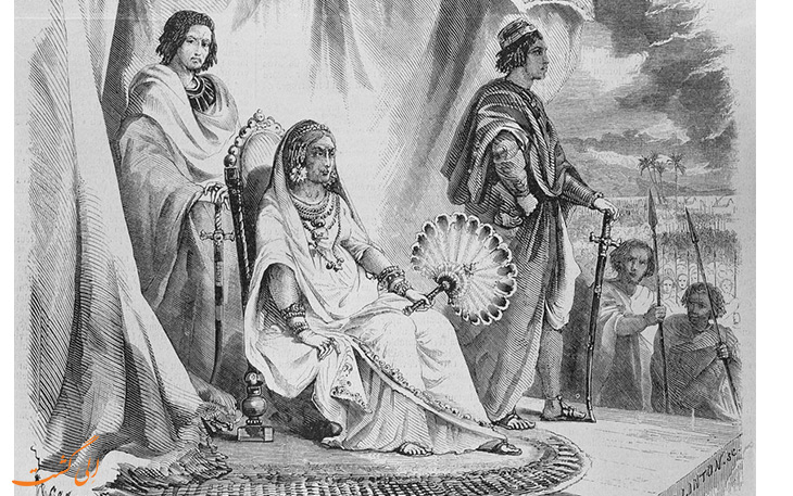 ملکه بی رحم تاریخ